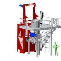 T1000-5 : machine de traitement des déchets infectieux