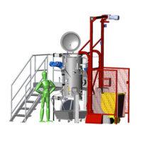 Machine ECODAS T150 : traitement de déchets biomédicaux