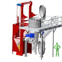 T2000-5 : machine de traitement des déchets réglementée