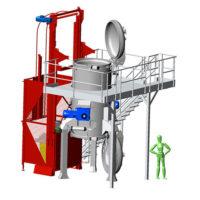T2000 : machine de traitement des déchets réglementée