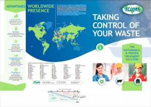 Ecodas COMMERCIAL BROCHURE: Treatment of infectious and hospital waste, DASRI