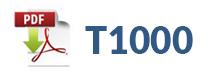 T1000 téléchargement de fiche technique